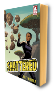 Cover of Shattered by Lee Winter