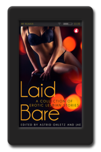 Cover of Laid Bare anthology